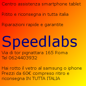 centro assistenza speedlabs